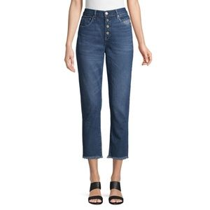 Blank NYC High-Rise Cropped Jeans